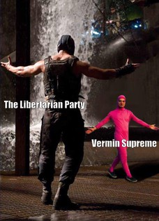 The Libertarian Party Vermin Supreme