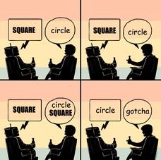 gotcha. gotcha CIRCLE circle SQUARE circle circle