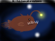 18.) Fish from pit of darkness