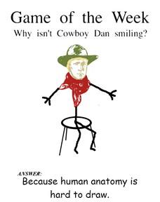 because human anatomy is hard to draw. Because human anatomy is hard to draw.