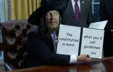 The constitution is more what you'd call guidelines