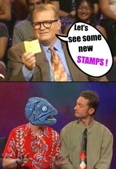 Let's see some new STAMPS !