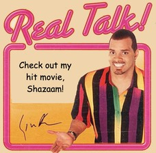 Check out my 1997 hit movie, Shazaam! I play a genie! Check out my hit movie, Shazaam!