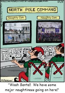 "Naughty Cam Naughty Cam ""Woah Santa!! We have some major naughtiness going on here!"""