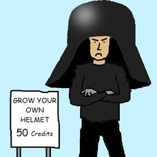 Grow your own helmet! GROW YOUR OWN HELMET 50 Credits GROW YOUR OWN HELMET 50 Credits 50 Credits! 50 Credits