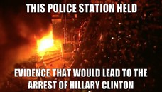 THIS POLICE STATION HOUSED EVIDENCE THAT WOULD LEAD TO THE ARREST OF HILLARY CLINTON EVIDENCE THAT WOULD LEAD TO THE ARREST OF HILLARY CLINTON THIS POLICE STATION HELD
